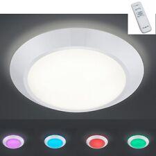 LED Deckenleuchte mit Fernbedienung Farbwechsler RGB LED Deckenlampe Rund Weiß