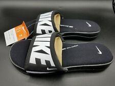 Nike Ultra Comfort 3 Slide Men's Sandal Size:7 AR4494 003 Black/White **New**