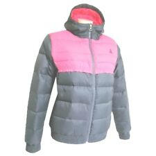 Nike ACG Thermo Down 550 Fill Jacket Womens Hooded Pink Puffer Coat SZ SMALL 4-6