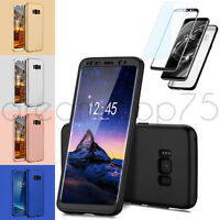 COQUE ETUI HOUSSE 360° FULL PROTECTION SAMSUNG GALAXY AU CHOIX + FILM PROTECTION