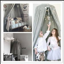 Kids Baby Dome Tent Mosquito Net Bed Princess Canopy Bedcover Curtain Bedding
