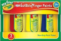 Crayola My First Washable Finger Paints - Pack of 3 - Crayola Paints Washable