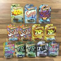 Hot Wheels Series Choose Your Own Vehicle Cars Decades Grunge Soul Hip Hop Etc