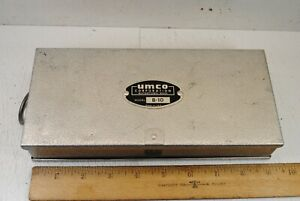Vintage UMCO Corp. Model B-10 Aluminum Fishing Lure Box