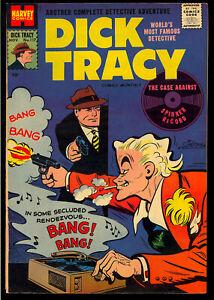 Dick Tracy Comics Monthly #117 Very Nice Harvey File Copy Comic 1957 FN-VF