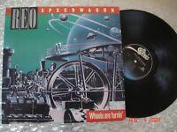 "REO Speedwagon – "" Wheels Are Turnin' '""  Vintage LP  Epic – QE 39593"