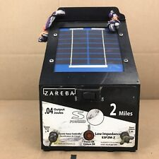 Zareba Energizer Esp2M-Z 2-Mile Solar Powered Electric Fence Charger 7.A3