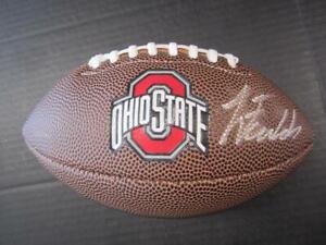 Justin Fields Signed autographed mini Ohio State Logo football