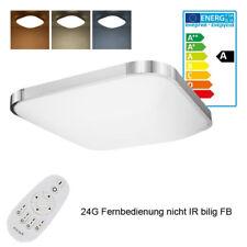 36W LED Deckenlampe Deckenleuchte Dimmbar + FB IP44 Badleuchte wohnzimmer Lampe