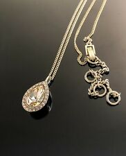 Givenchy gold tone Swarovski Crystal necklace