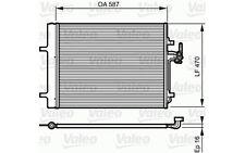 VALEO Condensador, aire acondicionado FORD MONDEO LAND ROVER RANGE 814184