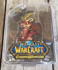 DC Unlimited World of Warcraft Valeera Sanguinar Action Figure Sealed In Box