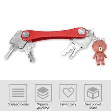 Keysmart 2.0 Premium Extended Compact Key Holder 2-14 Keys Red