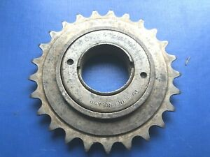 """NOS RARE VINTAGE TD CROSS DELUXE FREEWHEEL 25 TOOTH 1/8"""" ENGLISH THREAD,QUALITY"""