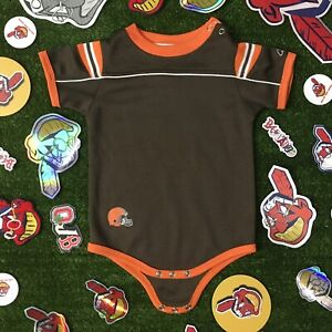Reebok NFL Cleveland Browns Baby Infant One Piece 12 Months