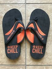 Jagermeister Flip Flops Sandals Unisex Size Small Mens 7.5, Womens 9