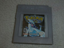 NINTENDO GAMEBOY GAME CARTRIDGE ONLY POKEMON SILVER VERSION ADVANCE COLOR CART