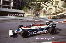 Brian Henton Toleman TG181 Monaco Grand Prix 1981 Photograph