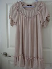 Korea Design on Bodies Nude Pink / Blush Chiffon Dress