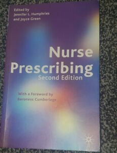 Nurse Prescribing Paperback Book The Cheap Fast Free Post