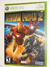Iron Man 2 (Xbox 360) BRAND NEW FACTORY SEALED - Marvel Sega Video Game