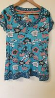 Mantaray Floral Relaxed fit T-shirt Top Size 12