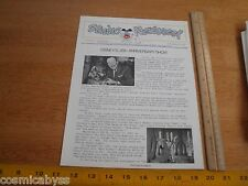 Disney Studio Newsreel Wed Mapo Employees mag 1978 25th anniversary show Walt