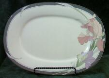 "NORITAKE - NEW DECADE - CAFE DU SOIR - 14"" - OVAL SERVING PLATTER"