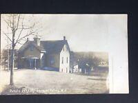 RPPC- German Valley NJ -Public School -Not Posted- Postcard- New Jersey
