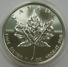 Canada Silver 5 Dollars Maple Leaf 1998
