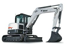 BOBCAT E80 Compact Excavator Service & Operator's Manual CD