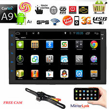 "In-dash Android 6.0 WIFI 7""Double 2DIN Car Radio GPS Stereo no-DVD Player+CAMERA"