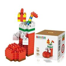Christmas Stockings Gift NANOBLOCK Building Toy LEGO Santa Ornament Brick Blocks