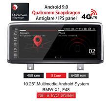 "BMW X1, F48 10,25"" ANDROID 9 4GB+64GB 8CORE SNAPDRAGON NBT & EVO ANTIGLARE IPS"