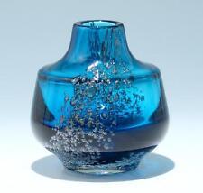 Schwere Vase FLORIDA Entwurf Löffelhardt Schott in Zwiesel um 1970      #81240