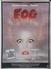 """FOG"" Affichette originale entoilée (John CARPENTER / Jamie LEE CURTIS)"