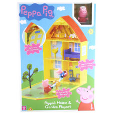 Peppa Pig Home & Garden Play House Playset with Peppa & George Figures