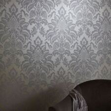 Paper Bedroom Damask Wallpaper Rolls & Sheets