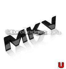 1 - VW Volkswagen Jetta Passat GTI Golf GLI Black Emblem Badge 19mm MKV BLACK
