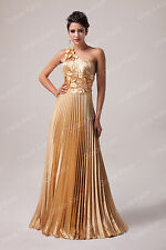 Maternity Long Satin Evening Party Gowns Formal Bridesmaid Prom Dresses UK 6-20