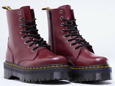 Dr. Martens Women`s Jadon Aggy Style Cherry Red  Boot ALL SIZES Retail $180!!!