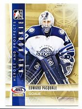 50ct Edward Pasquale 2011-12 ITG Heroes Prospects Hockey Update Rookie Lot #213