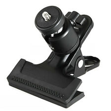 Spring Clamp Clip+Ball Socket Head for Studio Camera Flash Photography Shooting