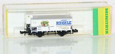 Minitrix N 13658 Bierwagen Riegele Augsburg der DRG mit BrHs in OVP GL6698