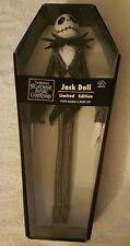 Nightmare Before Christmas Jack Skellington Doll Limited Edition