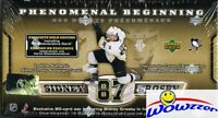 2005 UD Sidney Crosby PB GOLD 21 Card ROOKIE Set+JUMBO RC! Look for $1,500 AUTO!