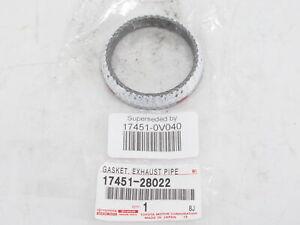 Genuine OEM Toyota 17451-0V040 Exhaust Pipe Converter Gasket