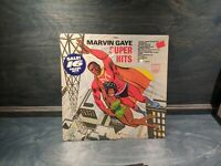 MARVIN GAYE Super Hits LP STEREO 1982 Soul SEALED NEW HYPE STICKER