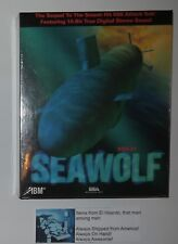 Seawolf SSN-21 (PC, 1994) Brand New Still Sealed Big Box PC game!  WOW!