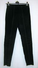 TWISTER: Damen Stretch Leggings schwarz Ziernähte Rundumdehnbund Gr. 42 44 NEU